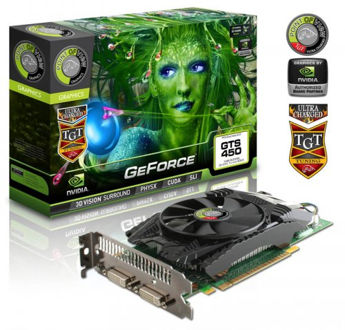 GeForce GTS 450 «Ultra Charged»